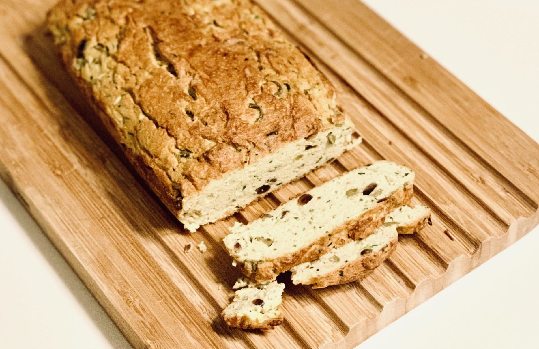 Olive Bread (Gluten Free)